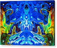 Night Watchers Acrylic Print by Omaste Witkowski
