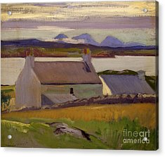 Nightfall  Iona Acrylic Print by Francis Campbell Boileau Cadell