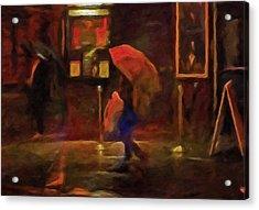 Nightlife Acrylic Print by Michael Pickett
