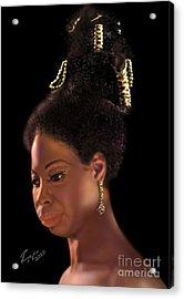 Nina Simone Acrylic Print by Reggie Duffie