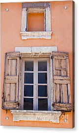 Nine Panes Minus One Acrylic Print by Bob Phillips
