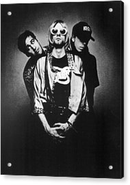 Nirvana Band Acrylic Print by Retro Images Archive