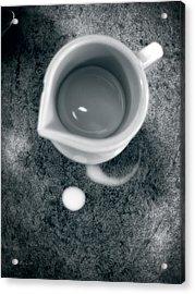 No Cream For My Coffee Acrylic Print by Bob Orsillo