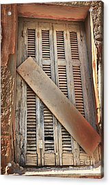 No Longer In Use.... Acrylic Print by Lynne Sutherland