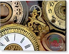 No More Time Acrylic Print by Tom Gari Gallery-Three-Photography