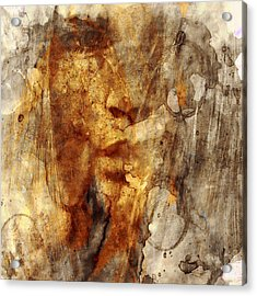 No Name Face Acrylic Print by Marian Voicu