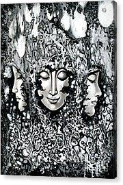 No Title Acrylic Print by Kritsana Tasingh