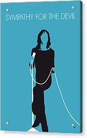 No005 My The Stones Minimal Music Poster Acrylic Print by Chungkong Art