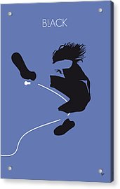 No008 My Pearl Jam Minimal Music Poster Acrylic Print by Chungkong Art