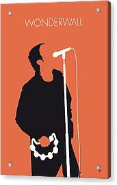 No023 My Oasis Minimal Music Poster Acrylic Print by Chungkong Art