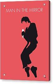 No032 My Michael Jackson Minimal Music Poster Acrylic Print by Chungkong Art