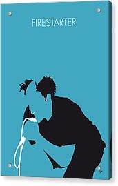 No045 My The Prodigy Minimal Music Poster Acrylic Print by Chungkong Art