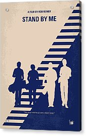 No429 My Stand By Me Minimal Movie Poster Acrylic Print by Chungkong Art