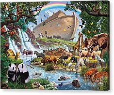 Noahs Ark - The Homecoming Acrylic Print by Steve Crisp