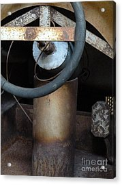 Nobody At The Controls Acrylic Print by Newel Hunter