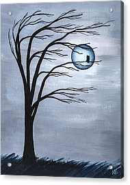 Nocturnal Acrylic Print by Melissa Smith