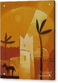 North Africa Acrylic Print by Lutz Baar