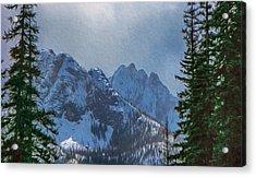 North Cascades Inspiration Acrylic Print by Omaste Witkowski