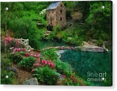 North Little Rock Ark Acrylic Print by Scott B Bennett