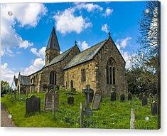 North Otterington Church Acrylic Print by Trevor Kersley
