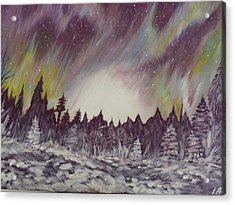 Northern Lights  Acrylic Print by Irina Astley