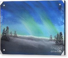 Northern Lights Acrylic Print by Tracey Williams