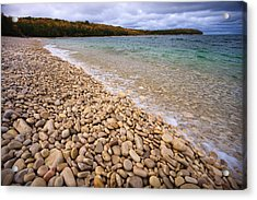 Northern Shores Acrylic Print by Adam Romanowicz