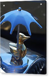 Northwest Roadster Hood Ornament Acrylic Print by Jani Freimann