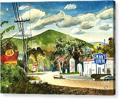 Nostalgia Arcadia Valley 1985  Acrylic Print by Kip DeVore