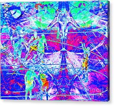 Nothing But Net The Free Throw 20150310inv Acrylic Print by Wingsdomain Art and Photography