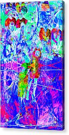 Nothing But Net The Jump Shot 20150310inv Acrylic Print by Wingsdomain Art and Photography