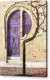 Nouveau Acrylic Print by Cynthia Decker