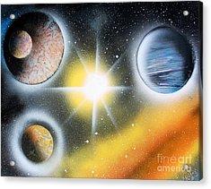 Nova 4671 Acrylic Print by Greg Moores
