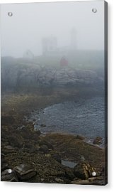 Nubble Light Acrylic Print by Joseph Smith