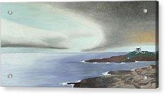 Nubble Storm Acrylic Print by Dillard Adams