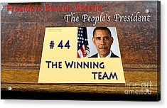 Number 44 - The Winning Team Acrylic Print by Terry Wallace