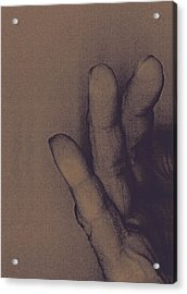 Number Three Acrylic Print by Bob RL Evans