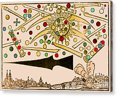 Nuremberg Ufo 1561 Acrylic Print by Science Source