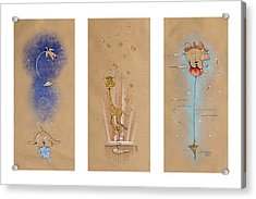 Nursery Collection 1 Acrylic Print by David Breeding