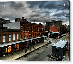 Nyc - High Line - Meatpacking District 004 Acrylic Print by Lance Vaughn
