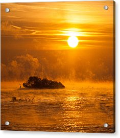 O Happy Day Acrylic Print by Davorin Mance