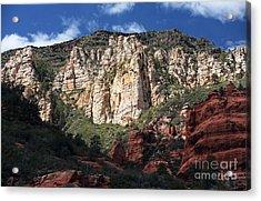 Oak Creek Canyon Acrylic Print by John Rizzuto