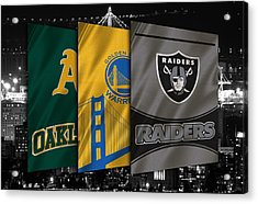 Oakland Sports Teams Acrylic Print by Joe Hamilton