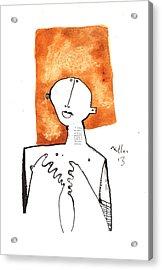 Oaths No.1 Acrylic Print by Mark M  Mellon