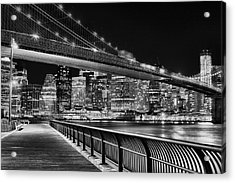 Obligatory Bw Acrylic Print by JC Findley
