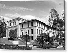Occidental College Fowler Hall Acrylic Print by University Icons