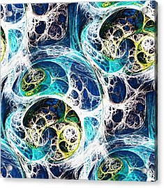 Ocean Acrylic Print by Anastasiya Malakhova