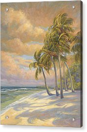 Ocean Breeze Acrylic Print by Lucie Bilodeau