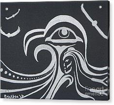 Ocean Eagle Eye Acrylic Print by A Cyaltsa Finkbonner