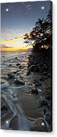 Ocean Flow Acrylic Print by James Roemmling